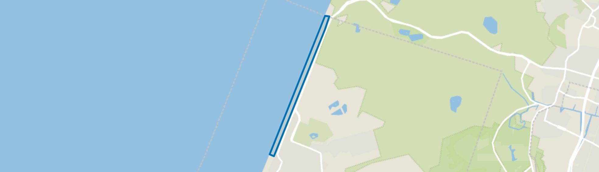 Noord strand, Zandvoort map