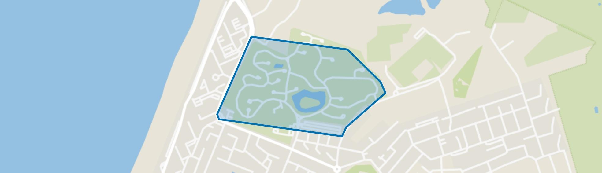Recreatiepark, Zandvoort map