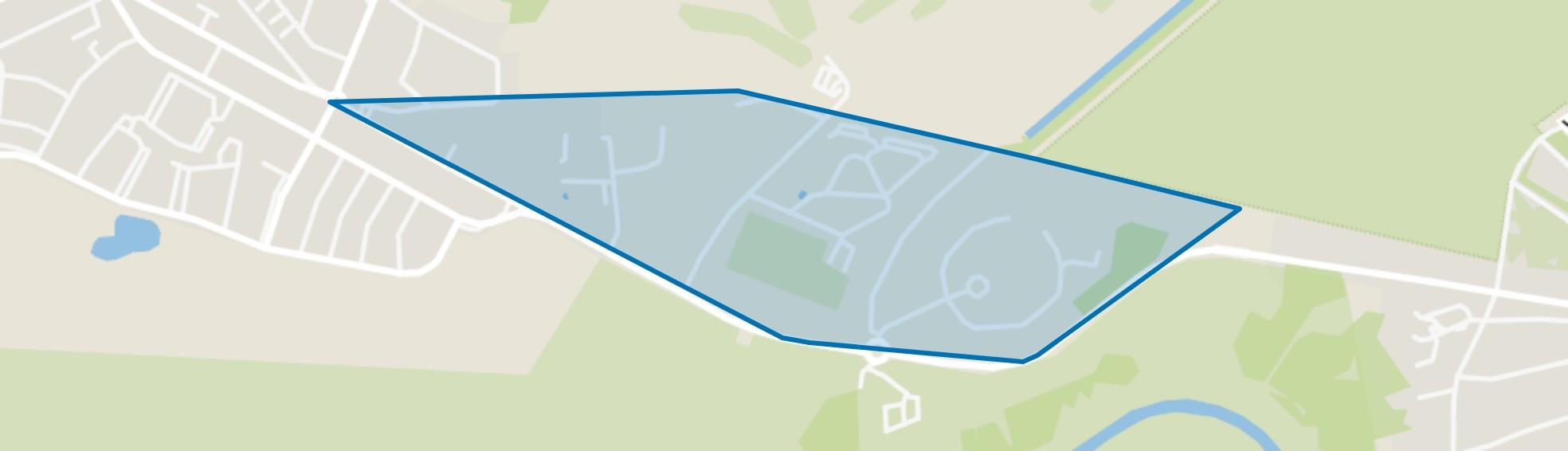 Zandvoortselaan, Zandvoort map