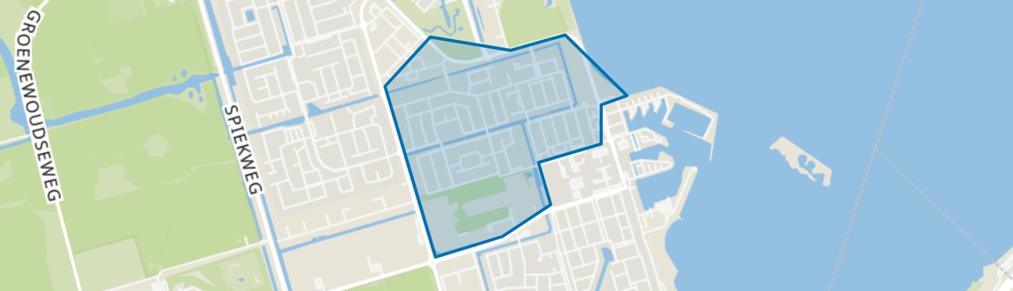 Eerste woonwijk, Zeewolde map