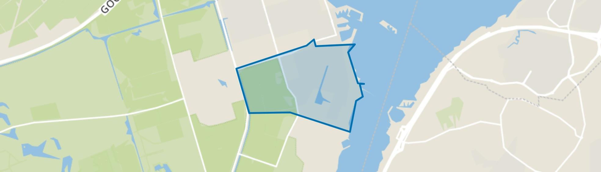 Tweede woonwijk, Zeewolde map