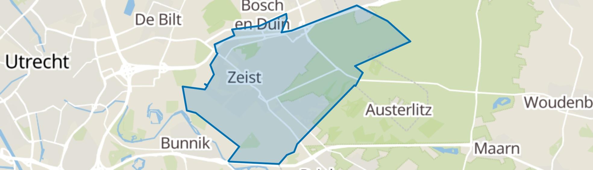 Zeist map
