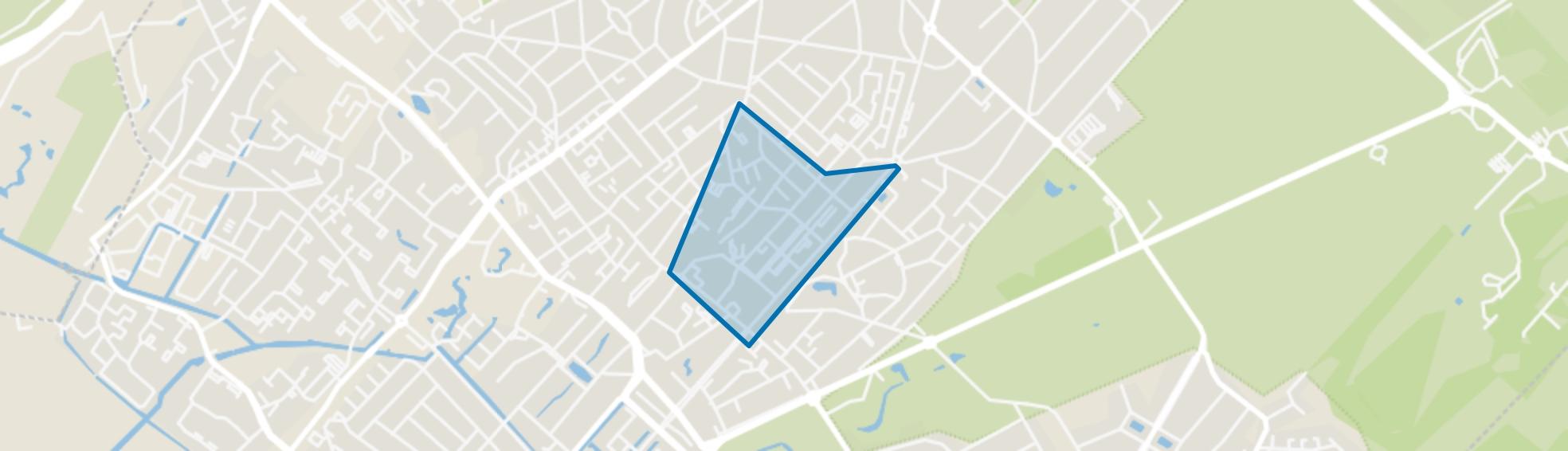 Carré, Zeist map