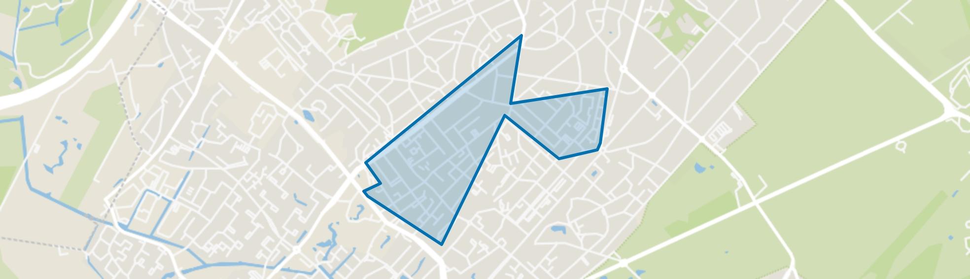 Centrumschil-Noord, Zeist map