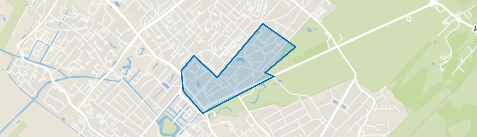 Centrumschil-Zuid, Zeist map