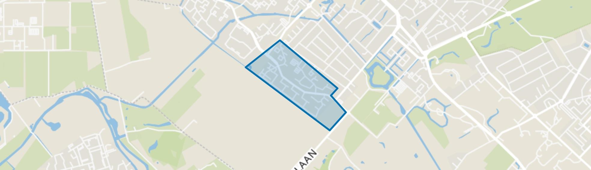 Couwenhoven, Zeist map