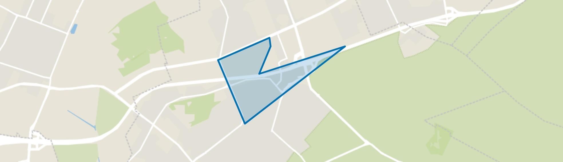 Dijnselburg, Zeist map