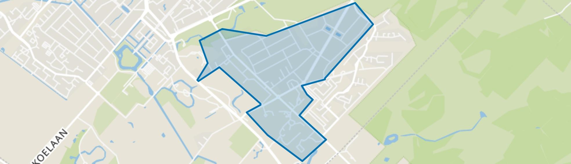Hoge Dennen, Zeist map