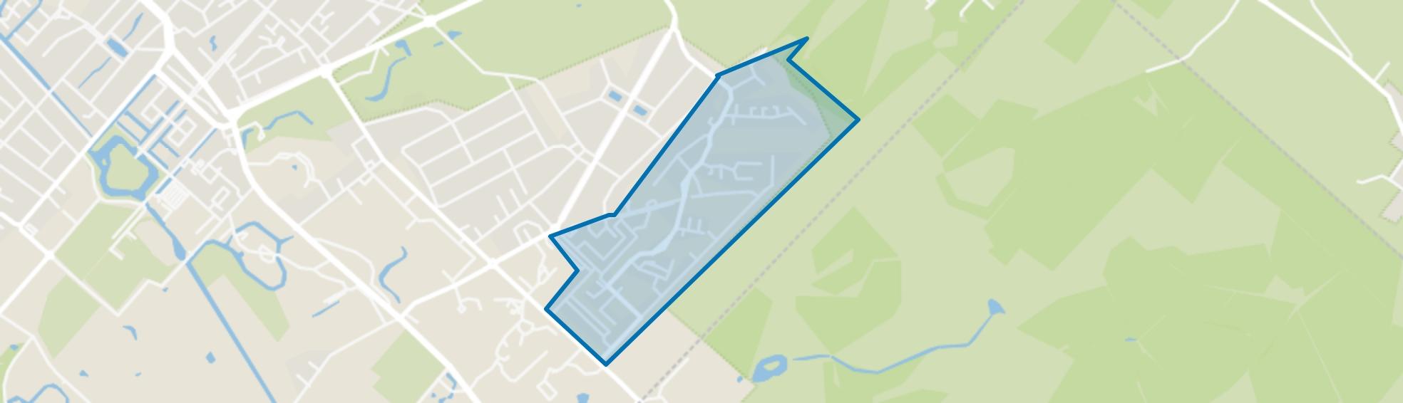 Kerckebosch, Zeist map