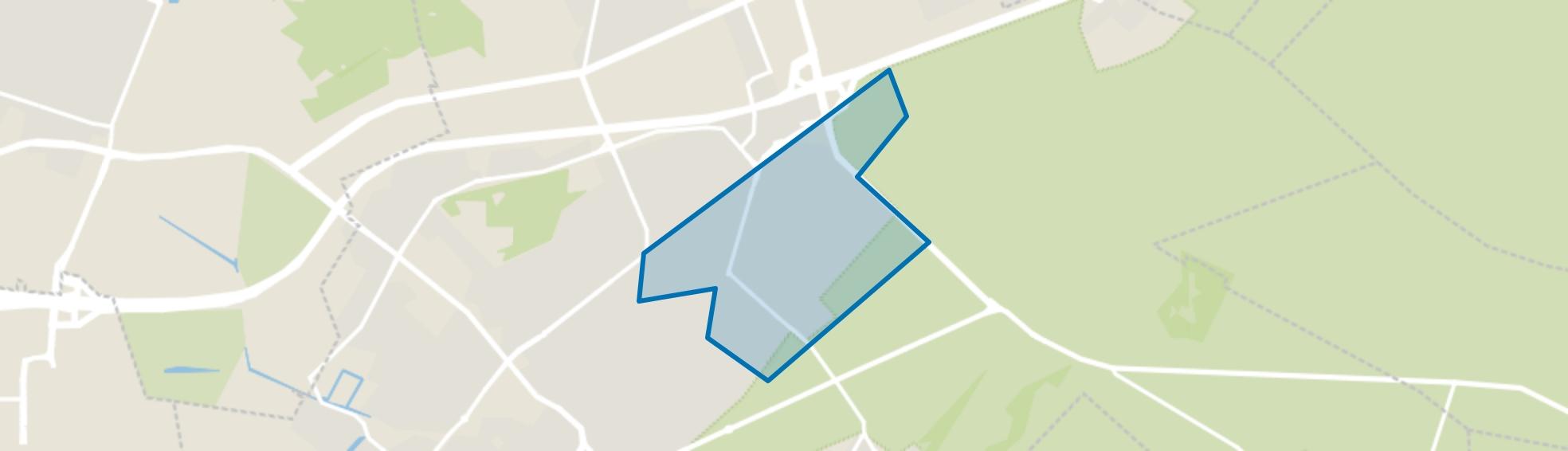 Lyceumkwartier, Zeist map