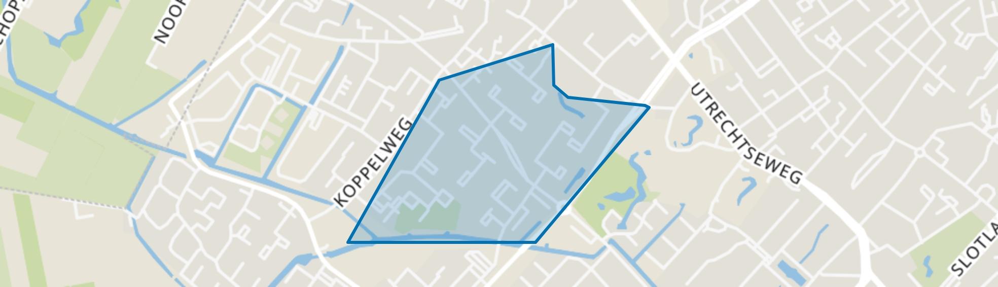 Nijenheim, Zeist map