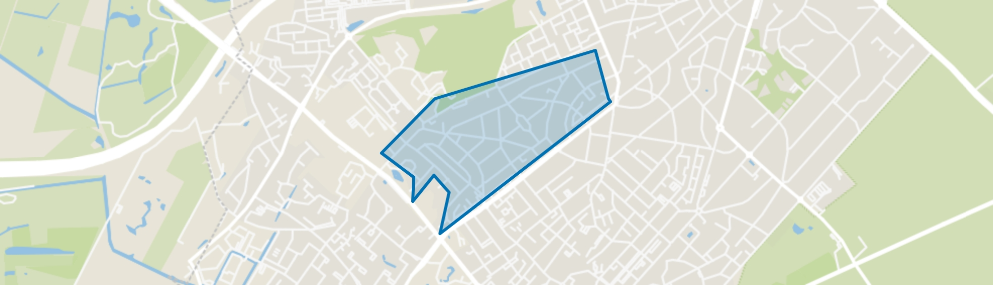 Patijnpark, Zeist map