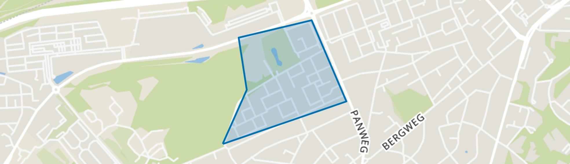 Staatsliedenkwartier, Zeist map