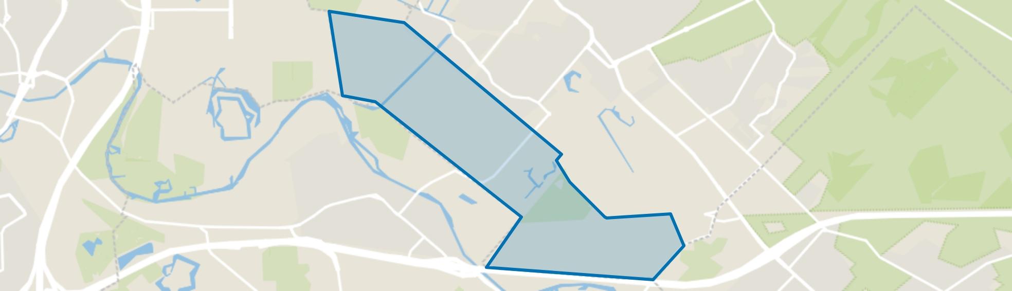 Weidegebied, Zeist map