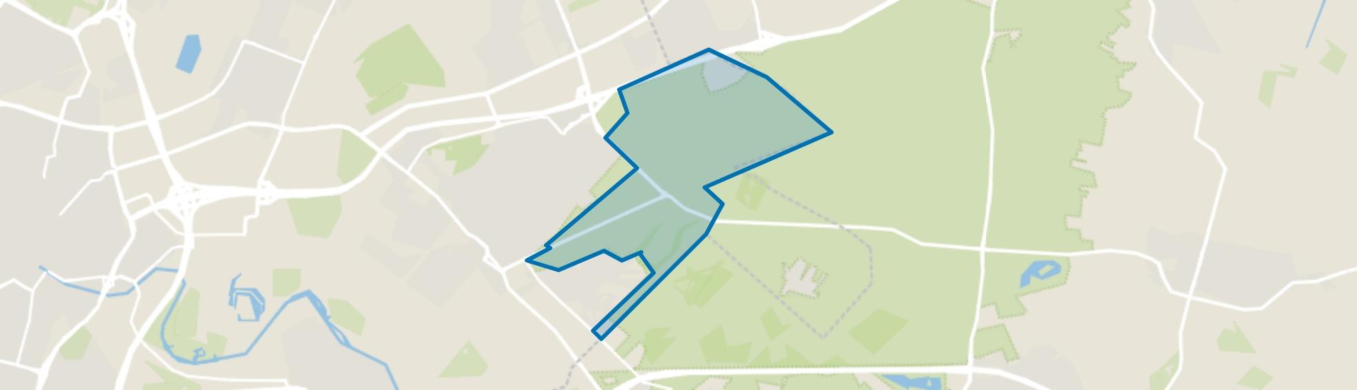 Zeister Bos, Zeist map
