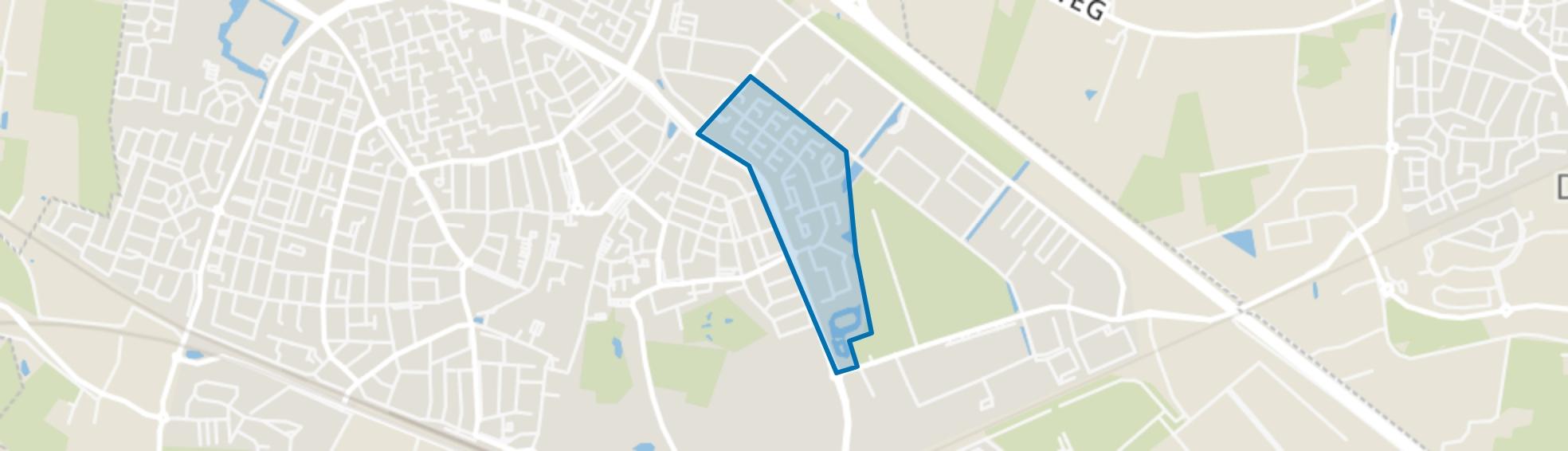 De Horst, Zevenaar map