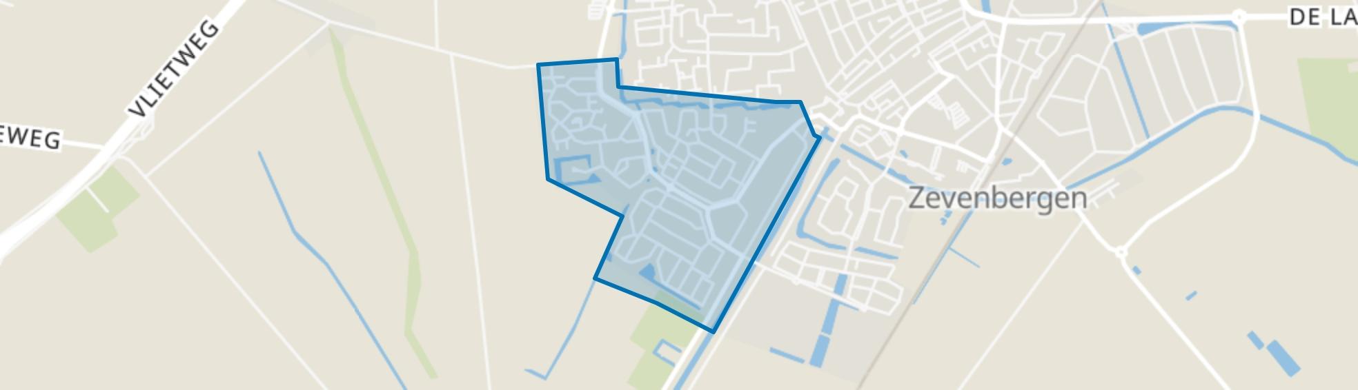 Lindonk, Zevenbergen map