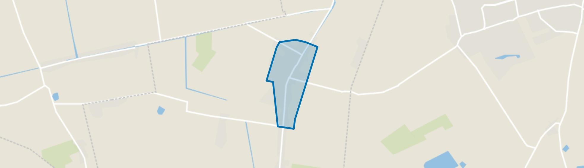 Bebouwde kom Zevenhuizen, Zevenhuizen (GR) map