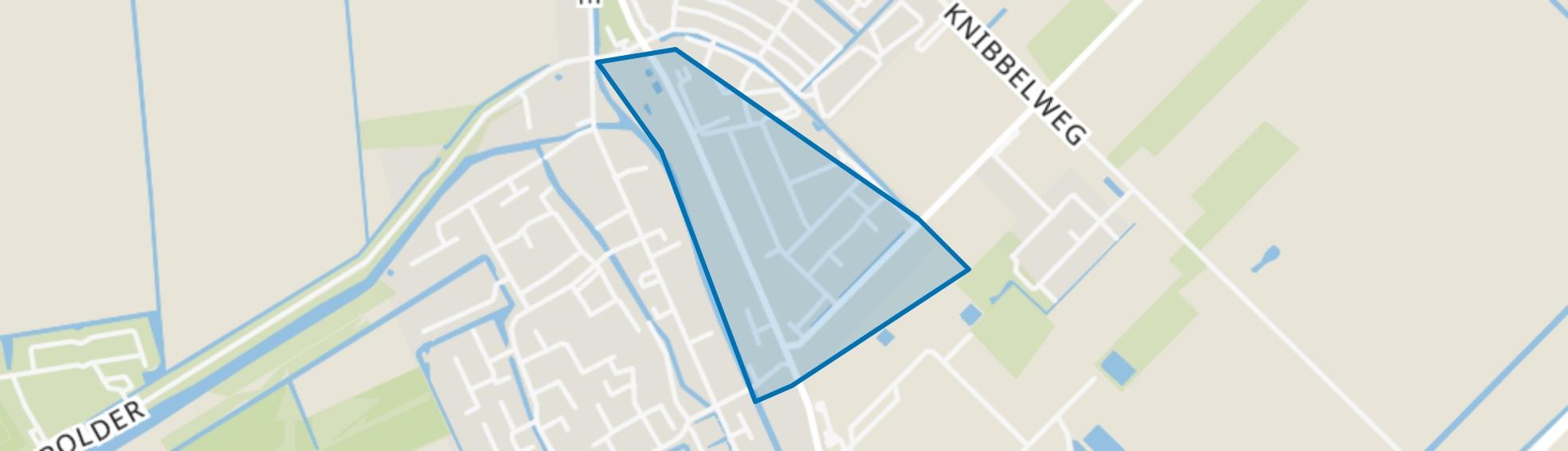 Zevenhuizen Bloemenbuurt, Zevenhuizen (ZH) map