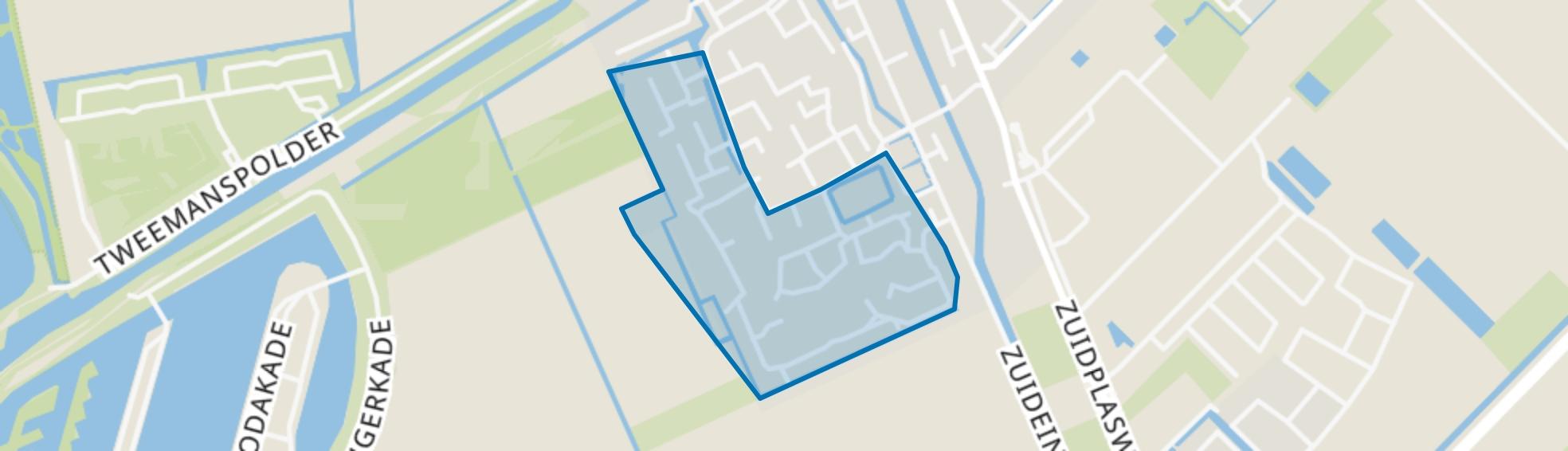 Zevenhuizen-West 2, Zevenhuizen (ZH) map