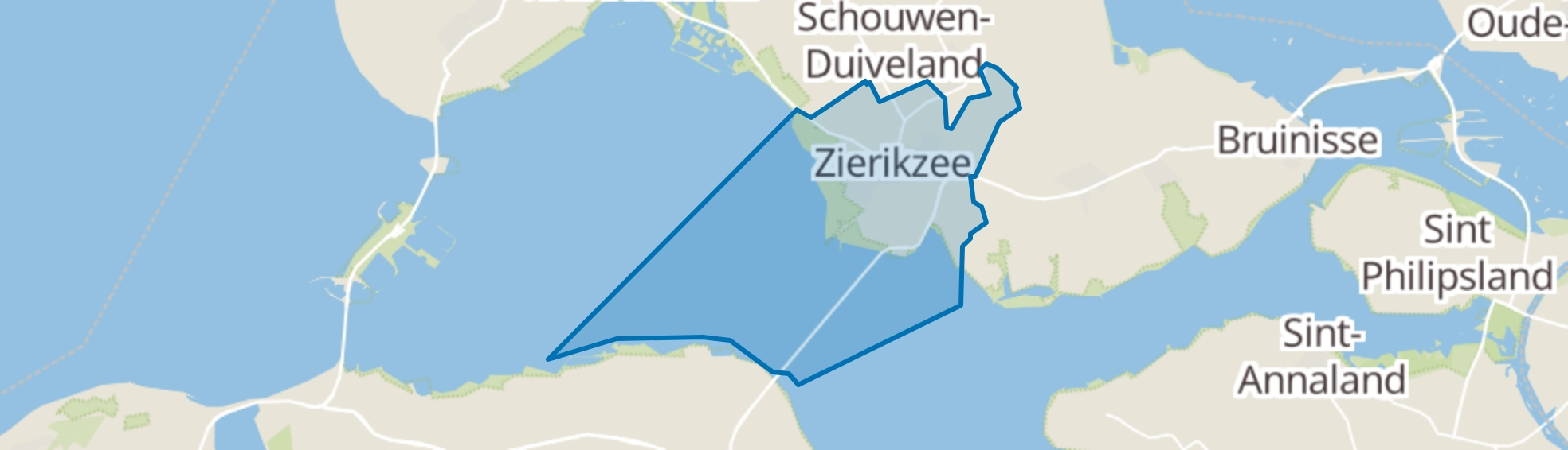 Zierikzee map