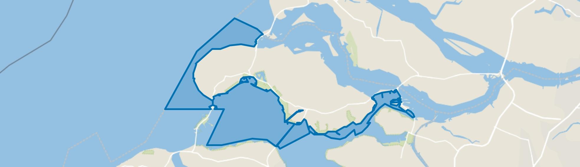 Water, Zierikzee map