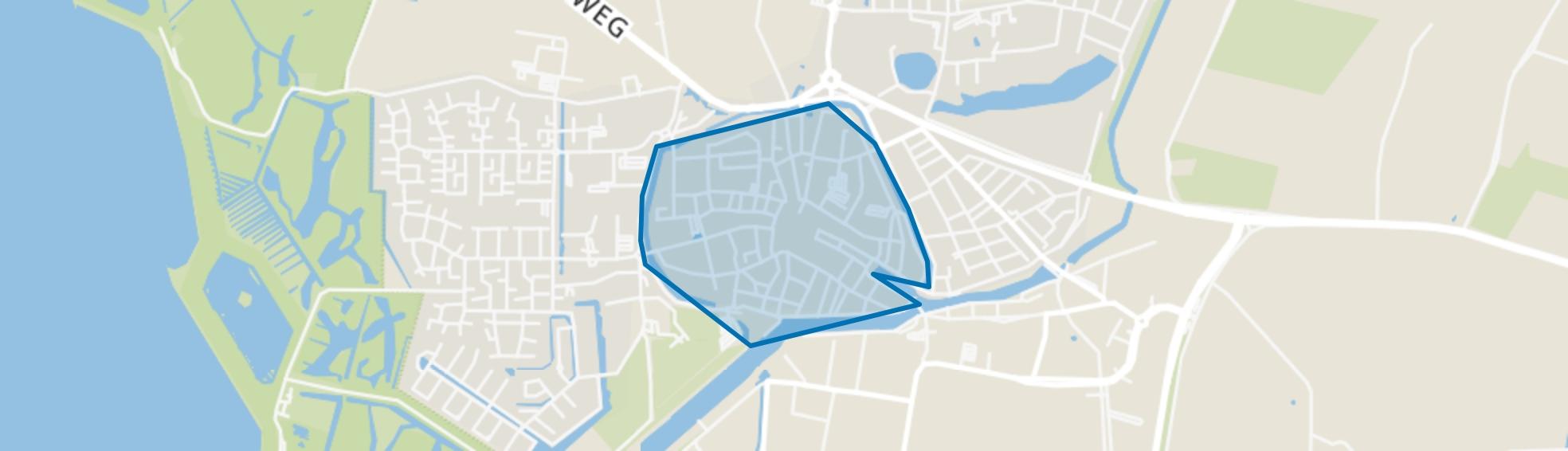 Zierikzee binnen de vesten, Zierikzee map