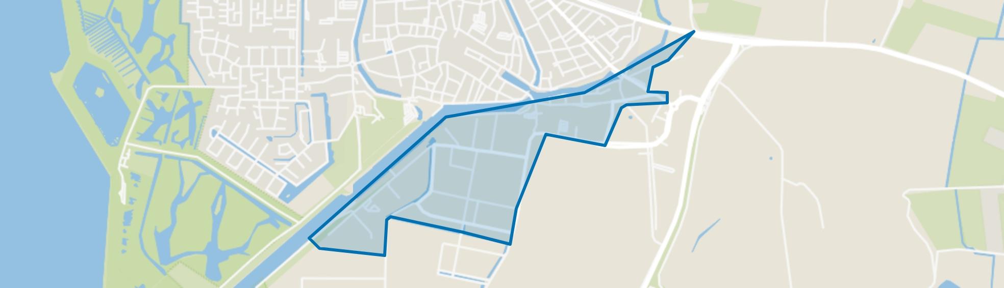 Zuidhoek, Zierikzee map