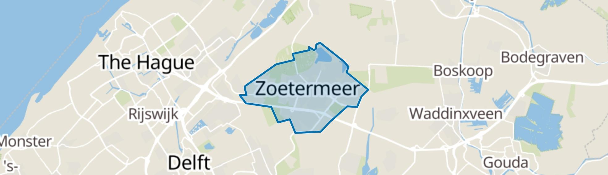 Zoetermeer map