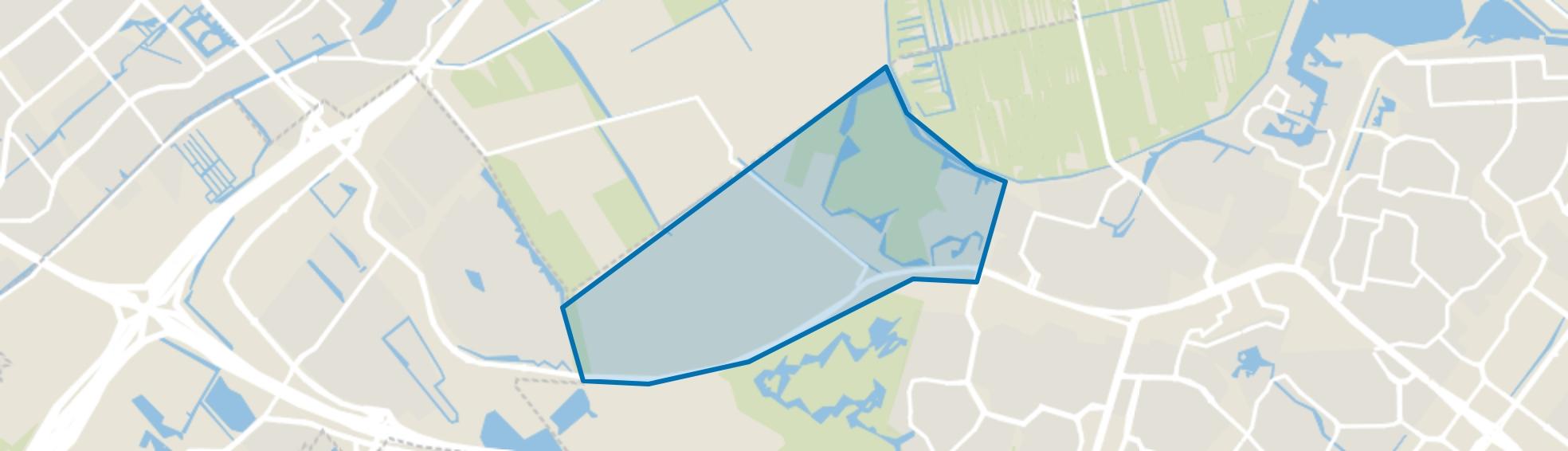 Buitengebied-West, Zoetermeer map