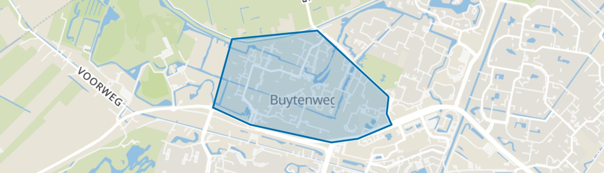 Buytenwegh, Zoetermeer map