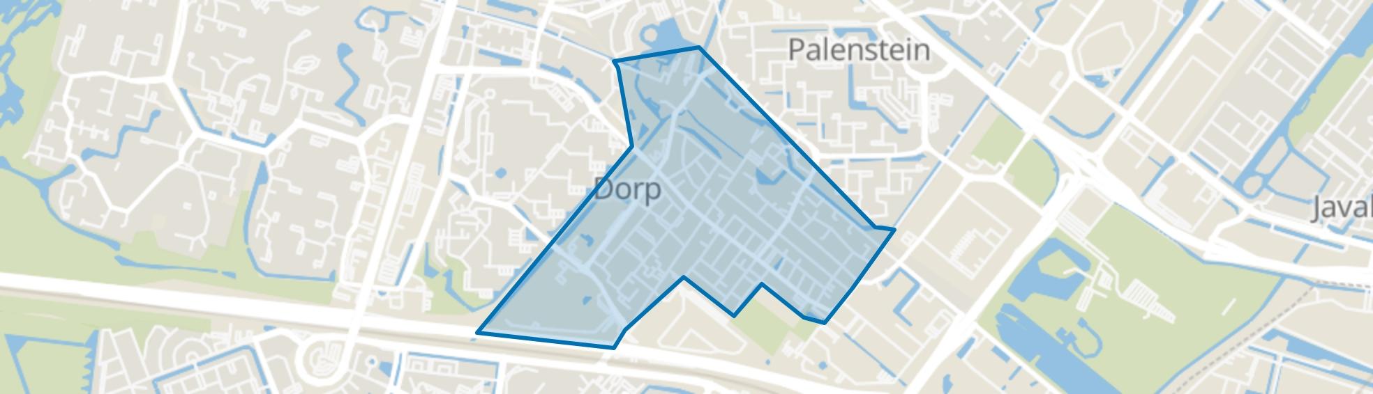 Dorp, Zoetermeer map