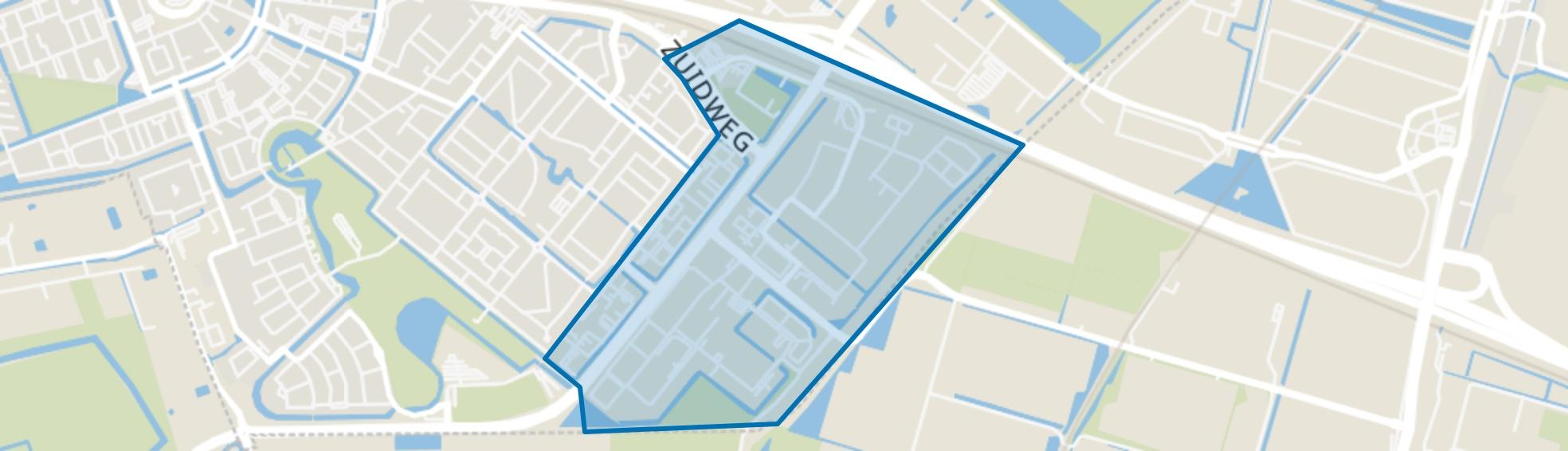 Lansinghage c.a., Zoetermeer map