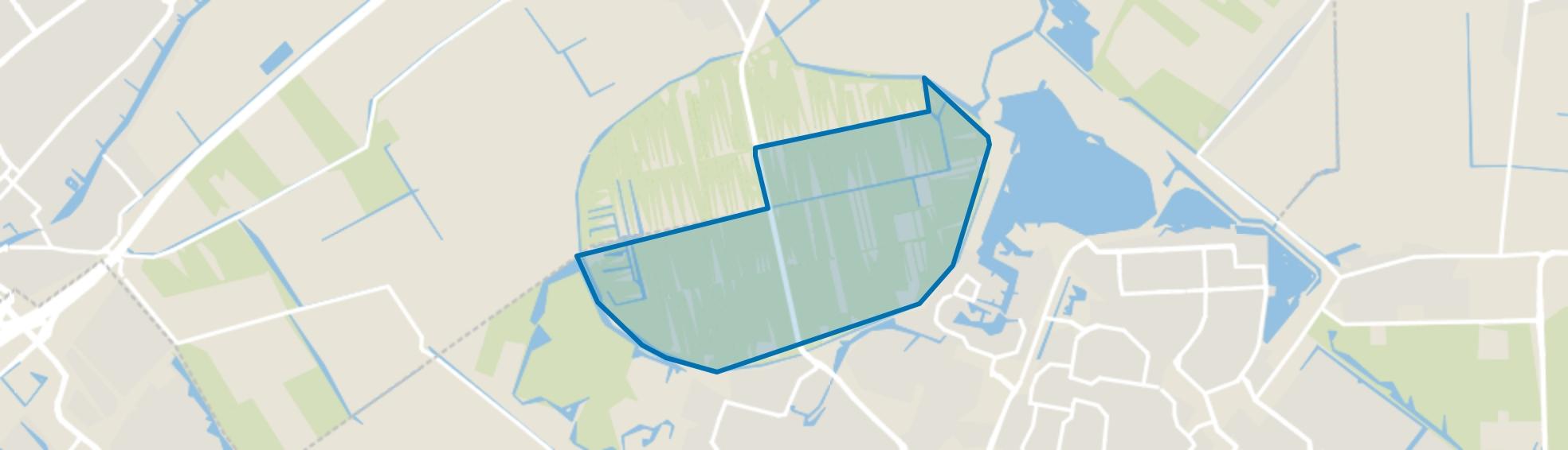 Meerpolder, Zoetermeer map