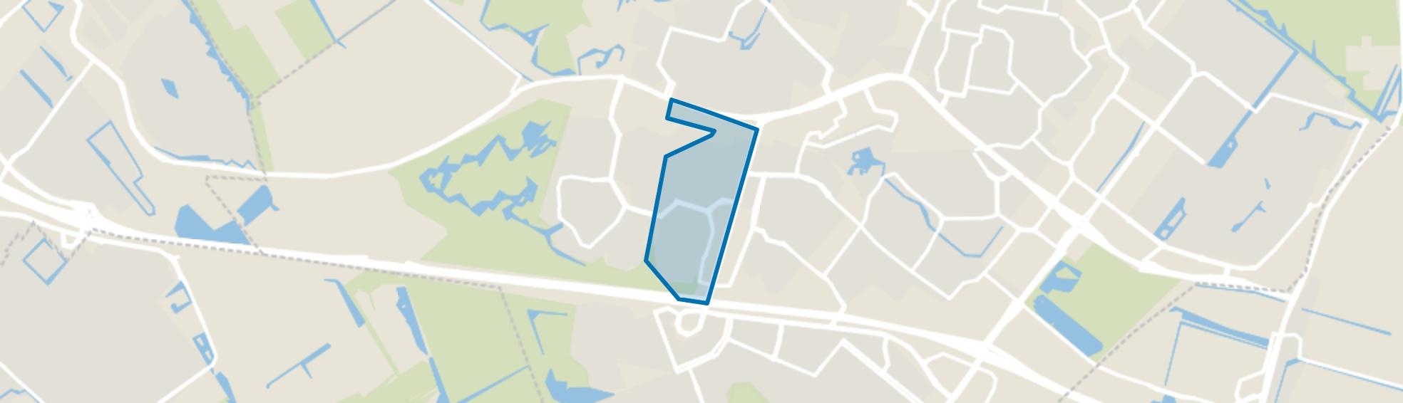Meerzicht-Oost, Zoetermeer map