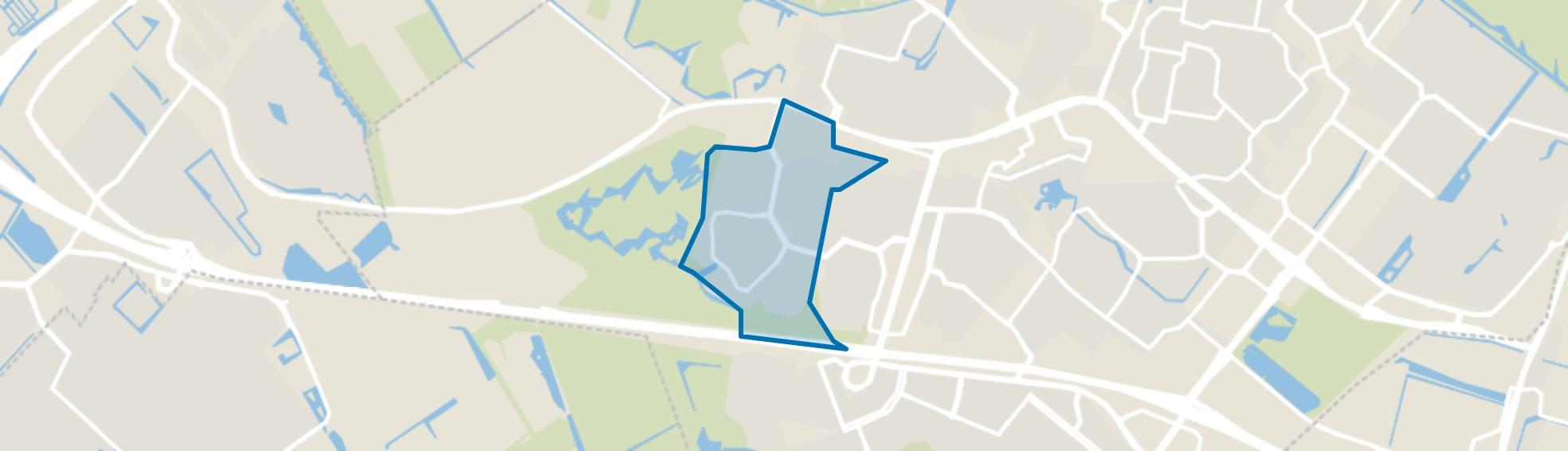 Meerzicht-West, Zoetermeer map