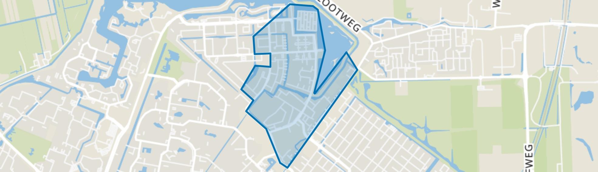 Noordhove-Oost, Zoetermeer map