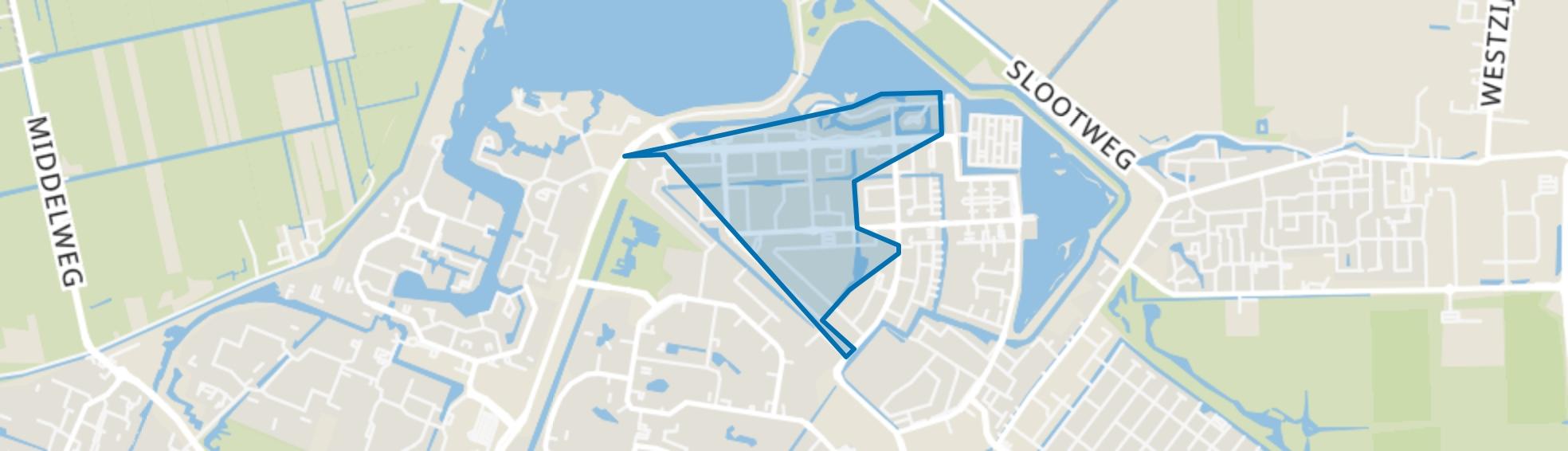 Noordhove-West, Zoetermeer map