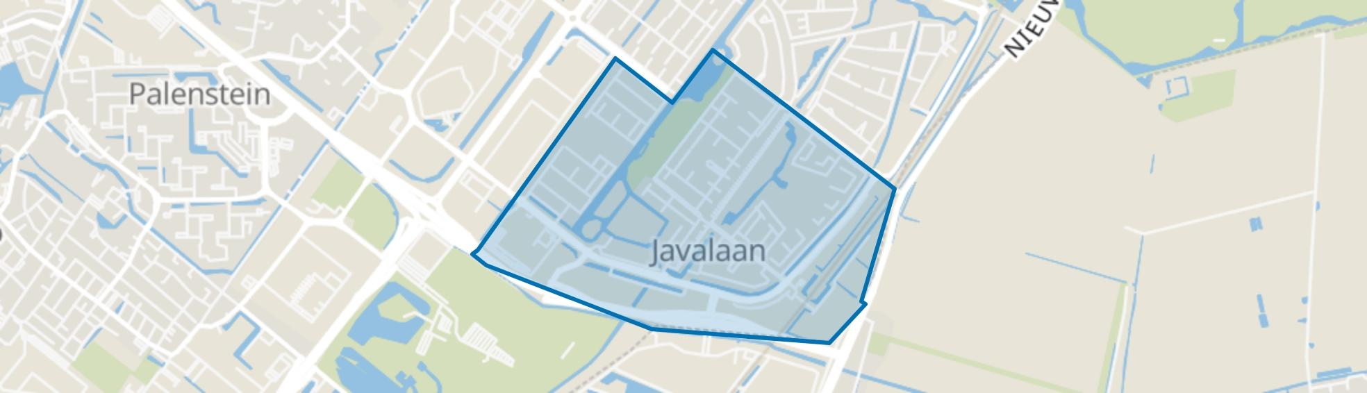 Oosterheem-Zuid-West, Zoetermeer map