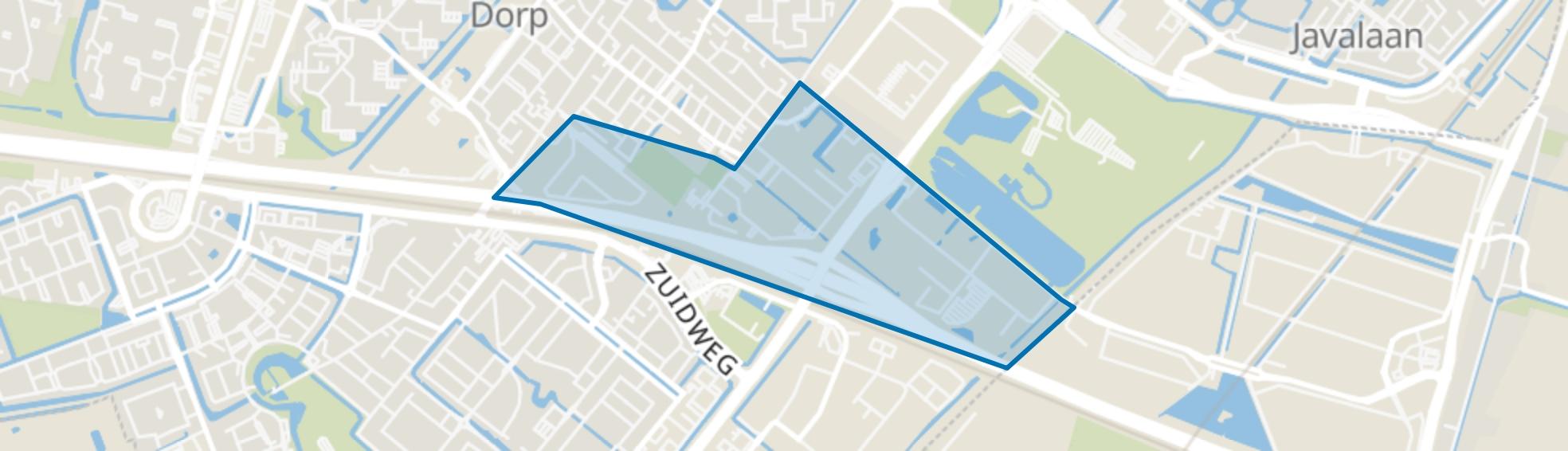 Rokkehage c.a., Zoetermeer map