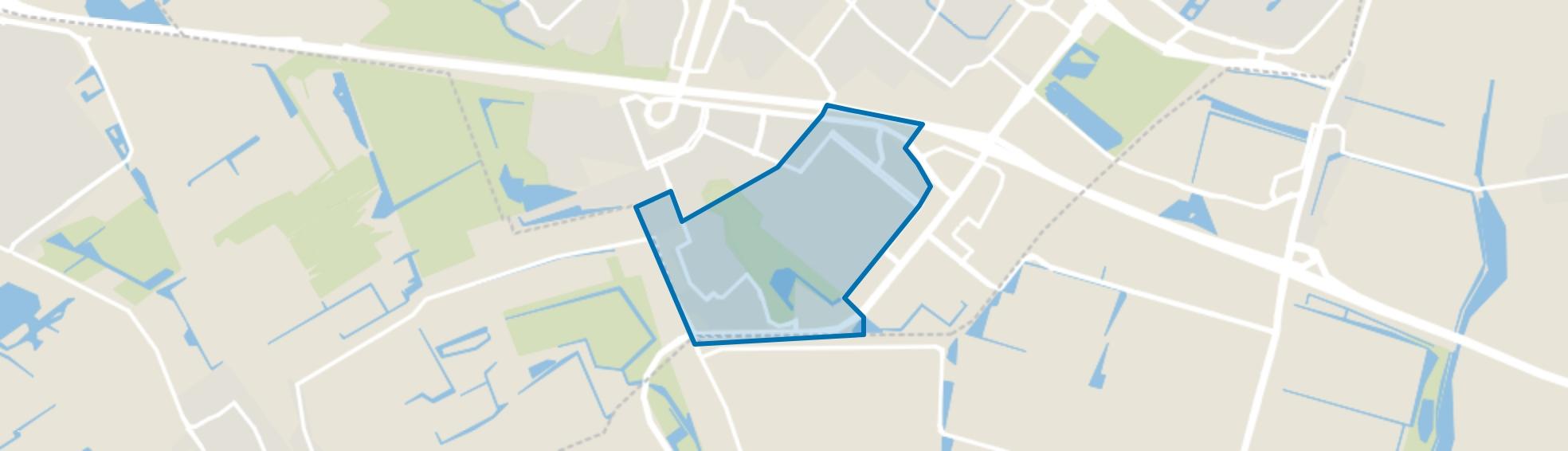 Rokkeveen-Oost, Zoetermeer map