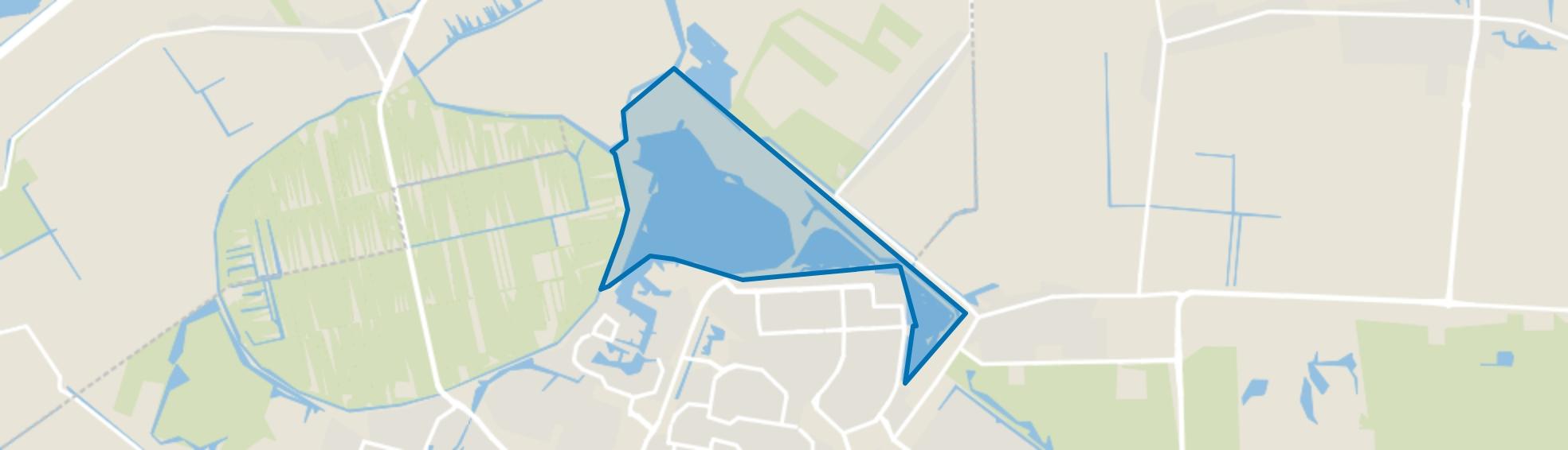 Scheidingszone, Zoetermeer map