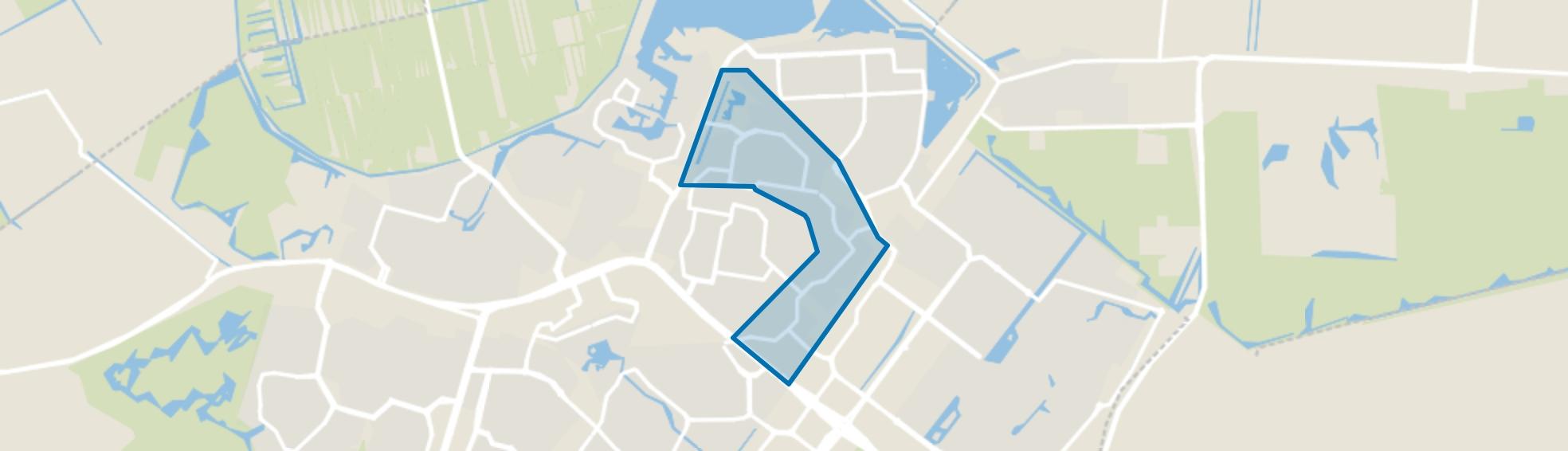 Seghwaert-Noord-Oost, Zoetermeer map