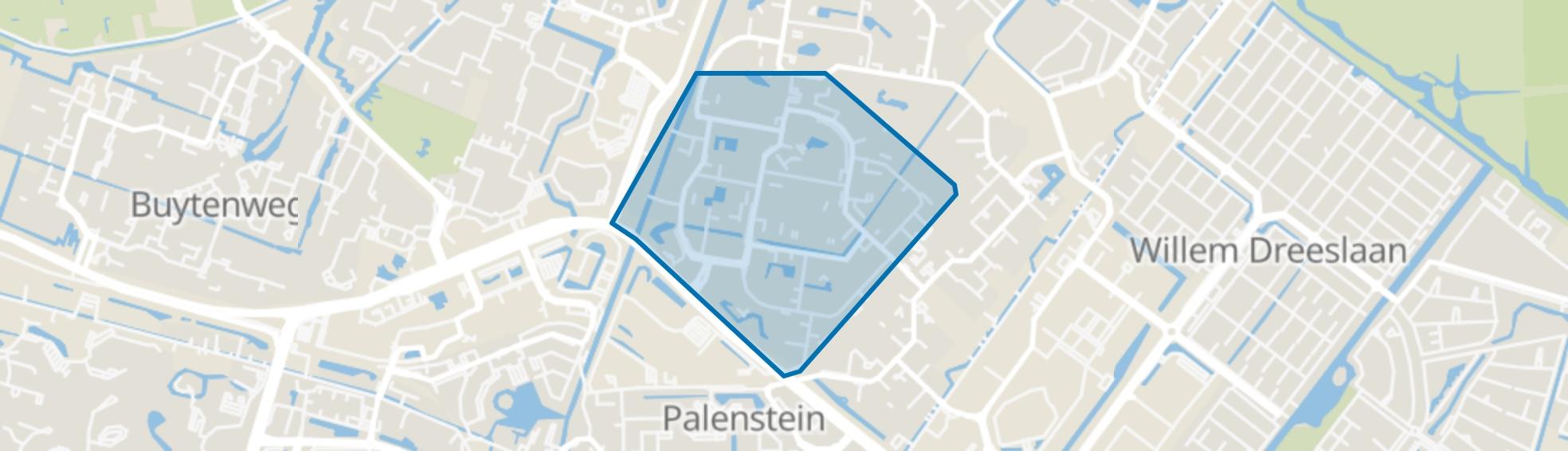 Seghwaert-Zuid-West, Zoetermeer map
