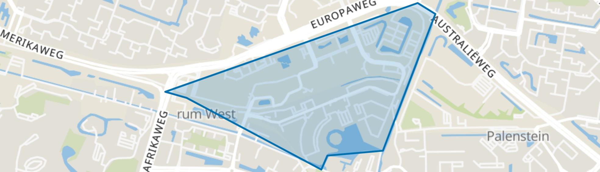 Stadscentrum, Zoetermeer map