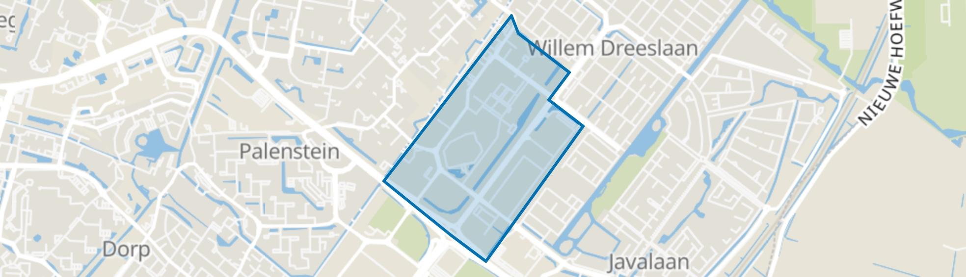 Zoeterhage c.a., Zoetermeer map