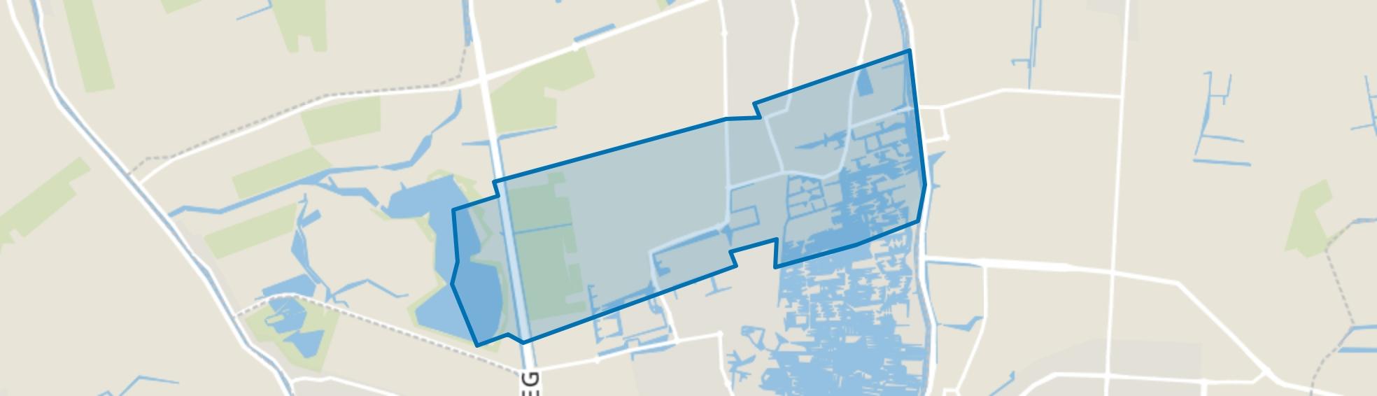 Zuid-Scharwoude, Zuid-Scharwoude map