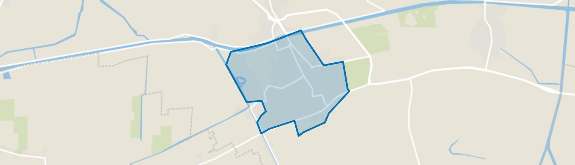 Zuidhorn, Zuidhorn map