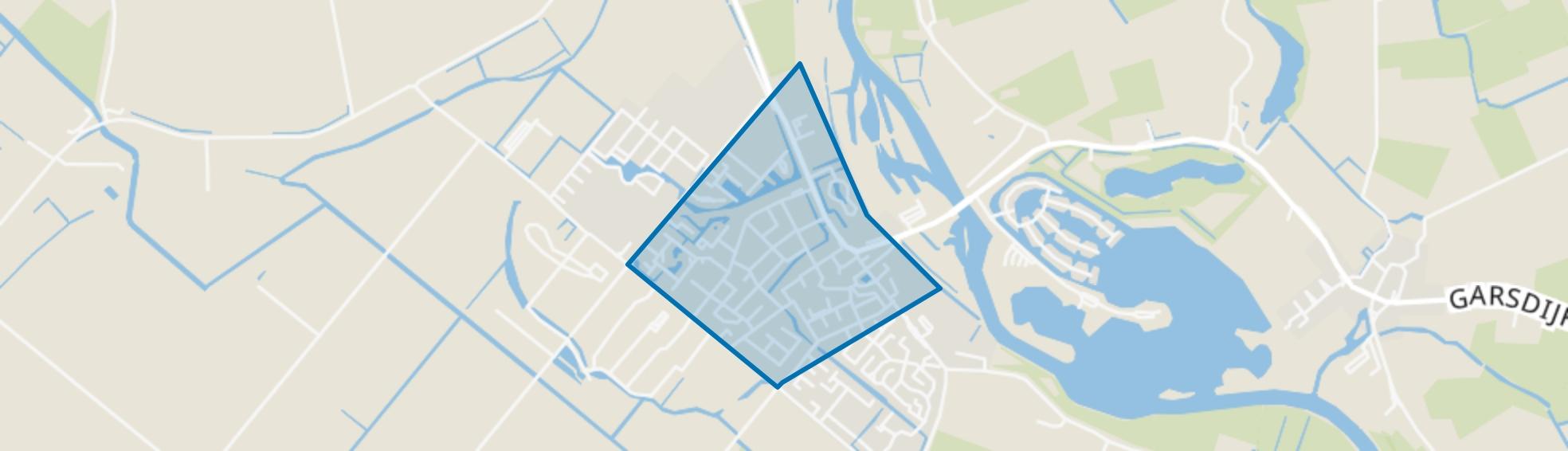 Kern Zuidland, Zuidland map