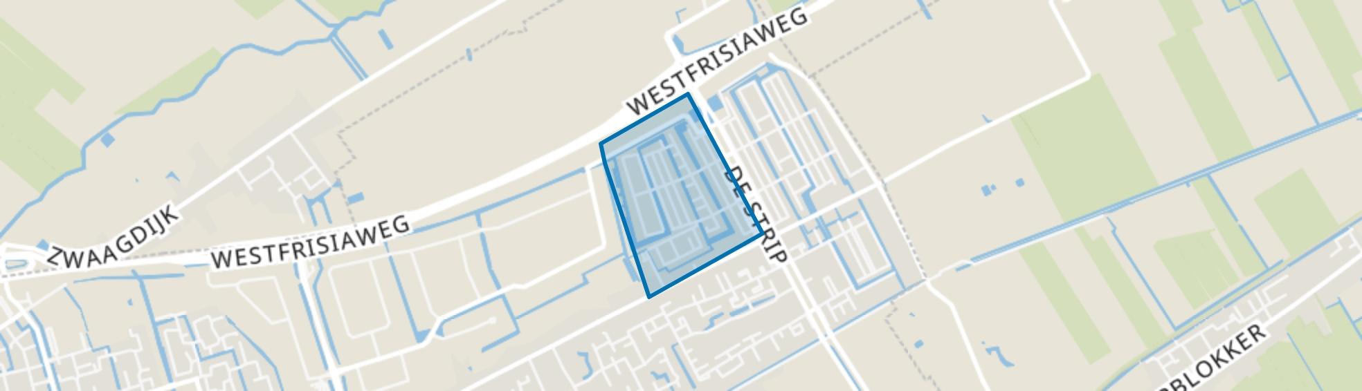 Bangert en Oosterpolder - Buurt 35 01, Zwaag map